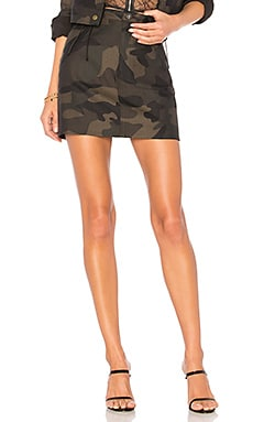 Isabela Camo Mini Skirt