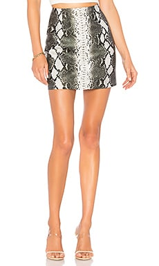 Cassandra Snake Mini Skirt