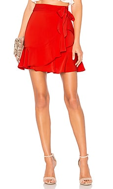 Patricia Ruffle Wrap Skirt by the way. $58