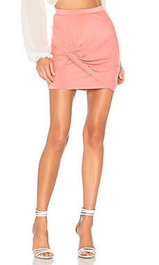 Kori Twist Mini Skirt by the way. $36