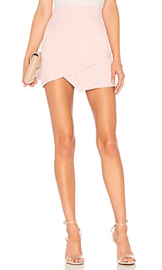 Saira Faux Suede Mini Skirt superdown $52