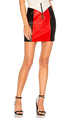 Krista Moto Zip Skirt by the way. $34