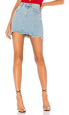 FALDA DENIM HEATHER by the way. $54