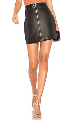 Lyss Faux Leather Mini Skirt