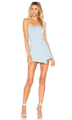 Avery Strapless Romper superdown $62 BEST SELLER