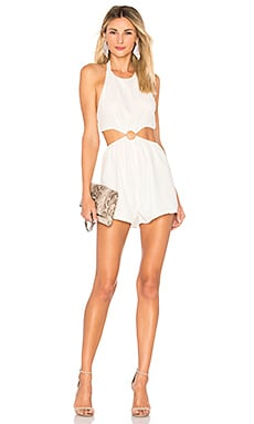 Eliana O Ring Cut Out Romper by the way. $62