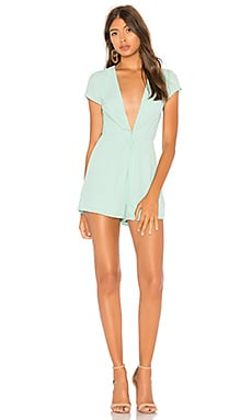 Nikkie Deep V Romper by the way. $25 (FINAL SALE)