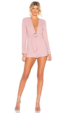 Brianna O Ring Belted Romper by the way. $43