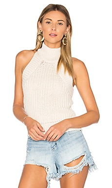 Sherry Knit Top in Cremefarben