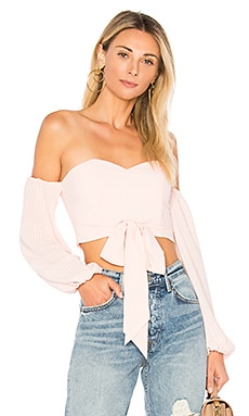 Maya Off Shoulder Crop Top