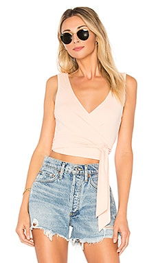 Mina Rib Wrap Top by the way. $40 BEST SELLER