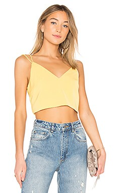 Coupon Superdown Caroline Backless Crop Top