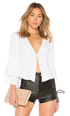 Julia Ruffle Top by the way. $34