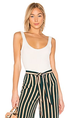 Ferrah Lurex Trim Bodysuit by the way. $27