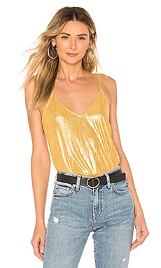 Tanya Metallic Bodysuit by the way. $27