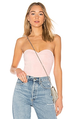 Carla Faux Suede Bodysuit by the way. $56