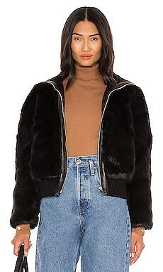 Monaco Faux Fur Jacket Bubish $99