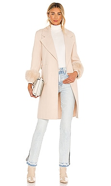 Sophia Faux Fur Coat Bubish $389