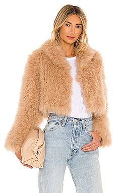 London Fur Jacket Bubish $445
