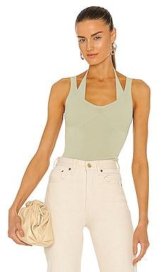 X REVOLVE Rumi Knit Bikini Tank Bubish $145 NEW