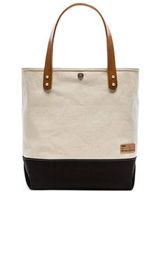 Buddy Short Collar Leather Tote in Black