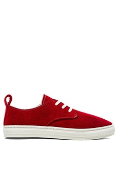 Buddy Corgi Low Suede in Red