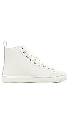 Buddy Bull Terrier Hi Smooth Leather in White