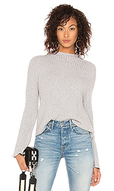 The Twisted Rib Sweater BROWN ALLAN $108