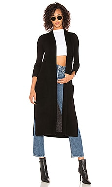 Long Cardigan BROWN ALLAN $105