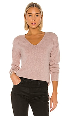 Twisted V Neck Sweater SWTR $136