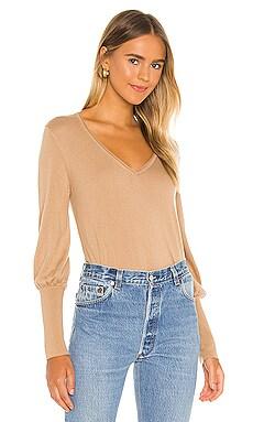 Rib Cuff V Sweater SWTR $163