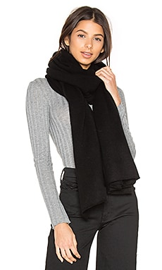 Jersey Travel Wrap en Noir