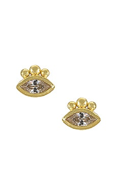 Trust Your Intuition Stud Earrings By Charlotte $100 NEW