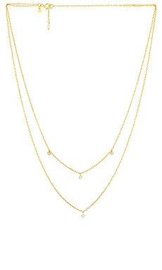 Gold Droplets Necklace By Charlotte $193