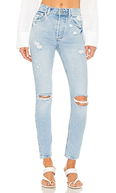 The Billy High Rise Skinny Boyish $168 NEW