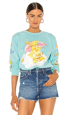 Raining Care Bears Crewneck By Samii Ryan $76