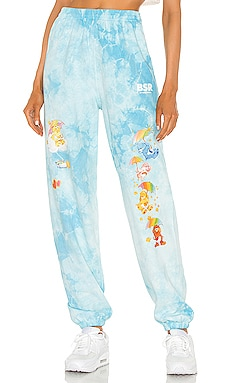 Raining Care Bears Tie-Dye Sweatpants By Samii Ryan $74 BEST SELLER