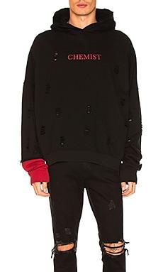 Chemist Distressed Hoodie