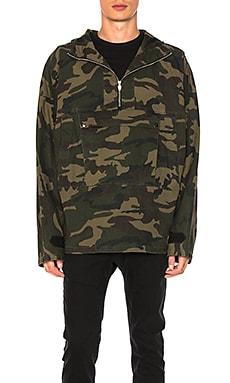 Camo Pullover Jacket