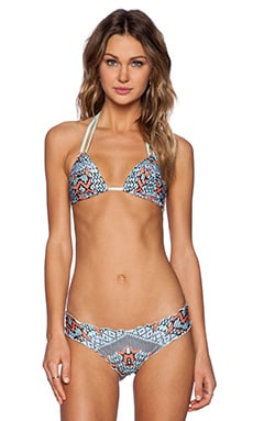 CA by vitamin A Analeigh Triangle Bikini Top in Wanderlust