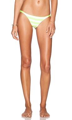 CA by vitamin A Luna Bikini Bottom in Luminousity Stripe