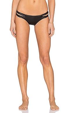 CA by vitamin A Camden Bikini Bottom in Cirre Blackout
