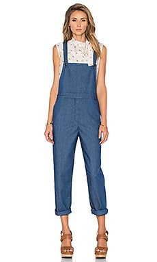 Denim Overall in Indigo