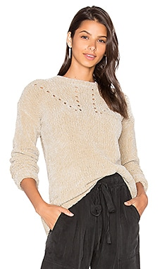 Scarlett Chenille Sweater in Beige
