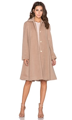 Flared Raglan Coat