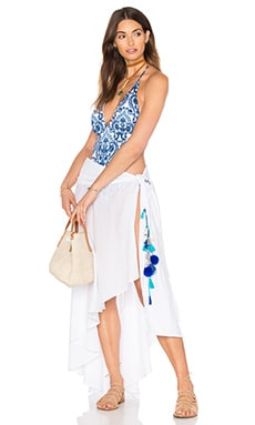 Skirt Cover Up in white