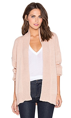Callahan Big Knit Cardigan in Shell