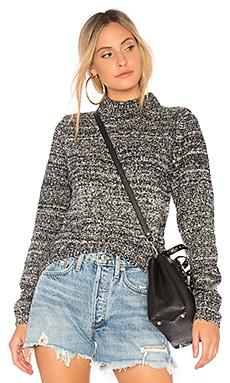 Melange Hi Low Sweater Callahan $48