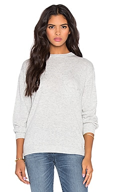 Callahan Everyday Crewneck Sweater in Heather Grey