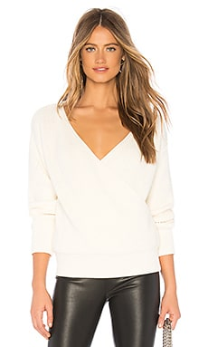 Agnes Wrap Sweater Callahan $128